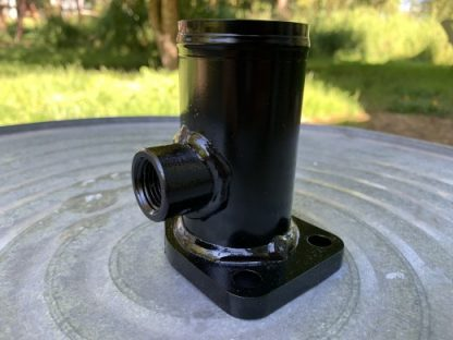 Water inlet for diesel conversion high mount kit